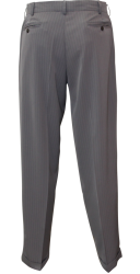Tanguero ( 4 plis ) Gris rayé blanc