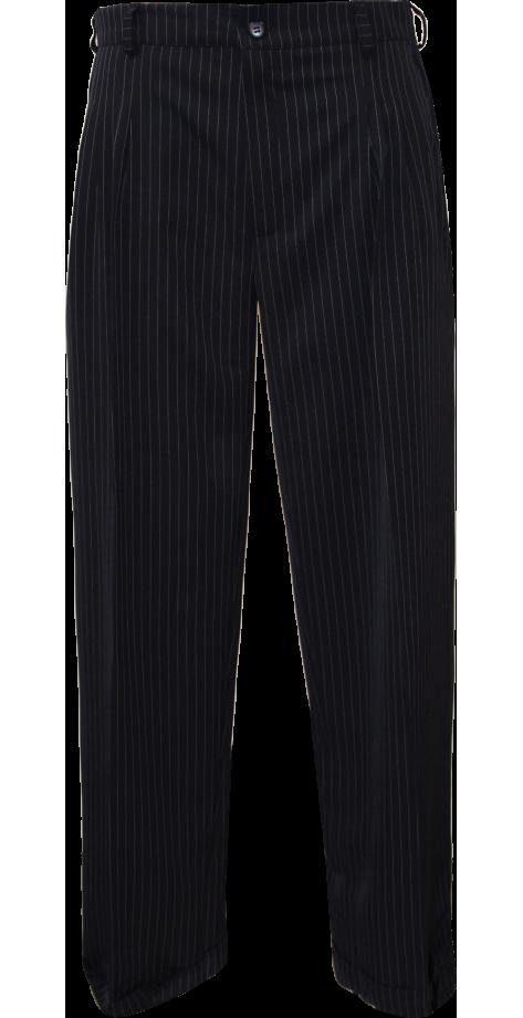 Tanguero (4 plis) Marine rayé blanc