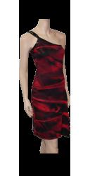Robe Zamba imprimée rouge